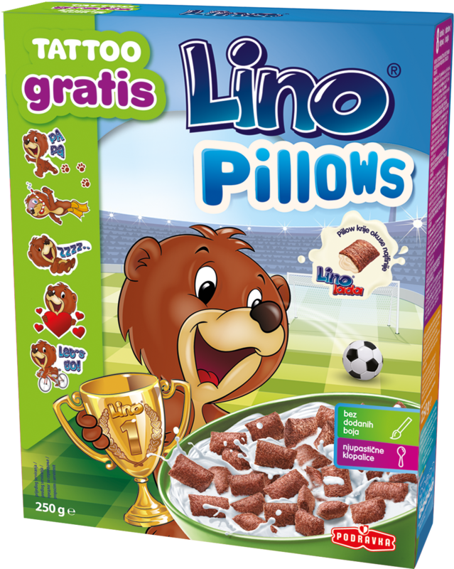 Lino Pillows - blazinice polnjene z Lino lado
