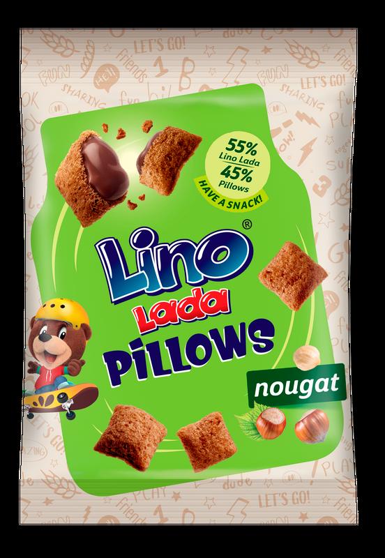 Pillows nougat