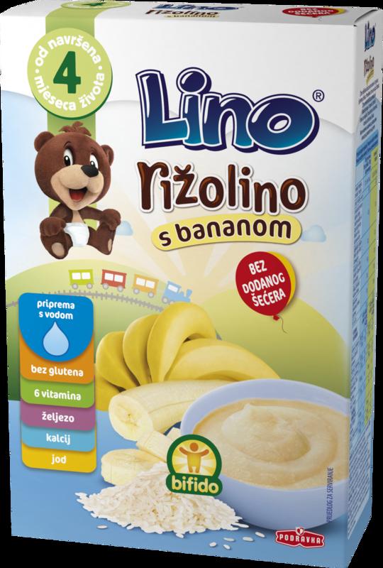 Lino riža banana