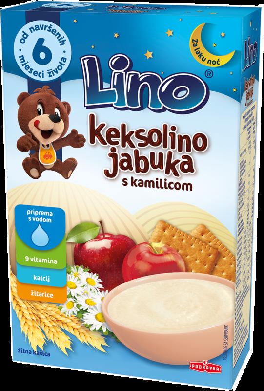 Lino Keksolino jabuka s kamilicom