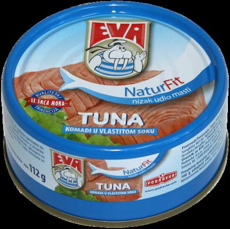 Tuna solid in brine