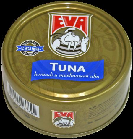 Tuna solid in olive oil