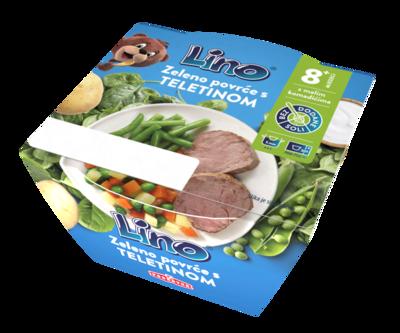 Zeleno povrće s teletinom