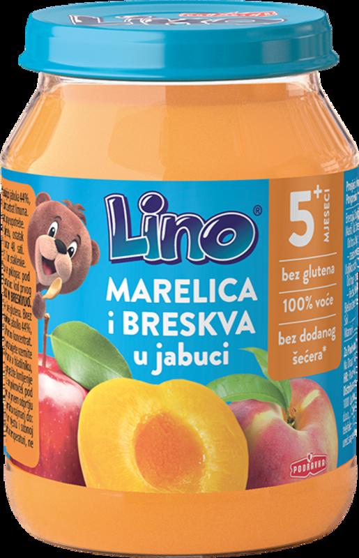 Lino marelica i breskva u jabuci