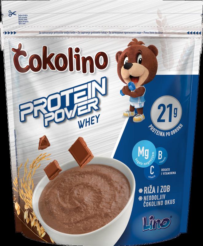 Čokolino protein power