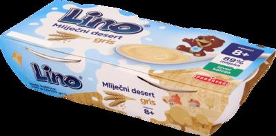 Lino mliječni desert gris