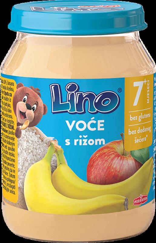 Lino voće s rižom