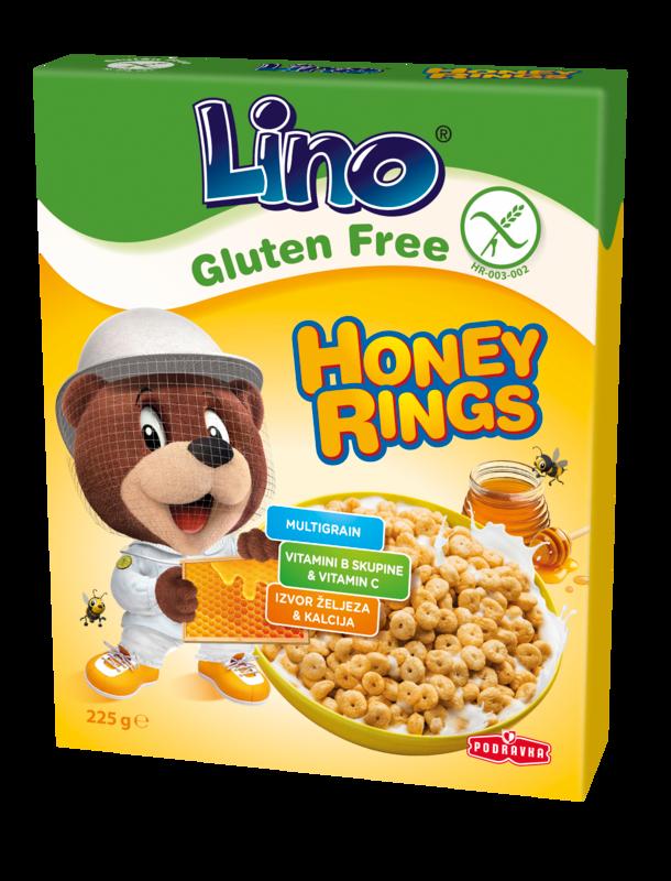 Lino Honey rings brez glutena