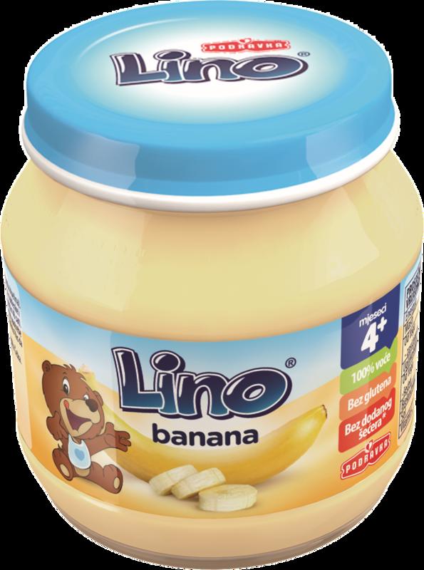 Lino kašica banana