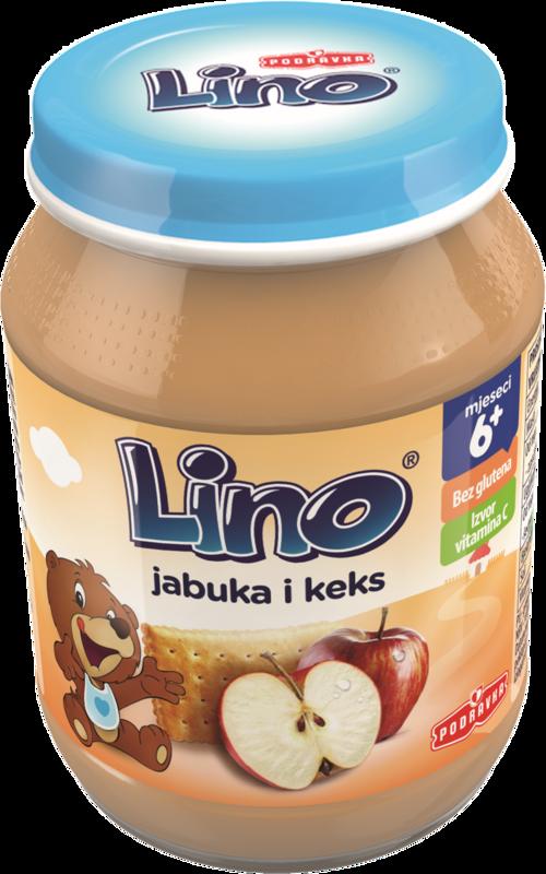 Lino jabuka i keks