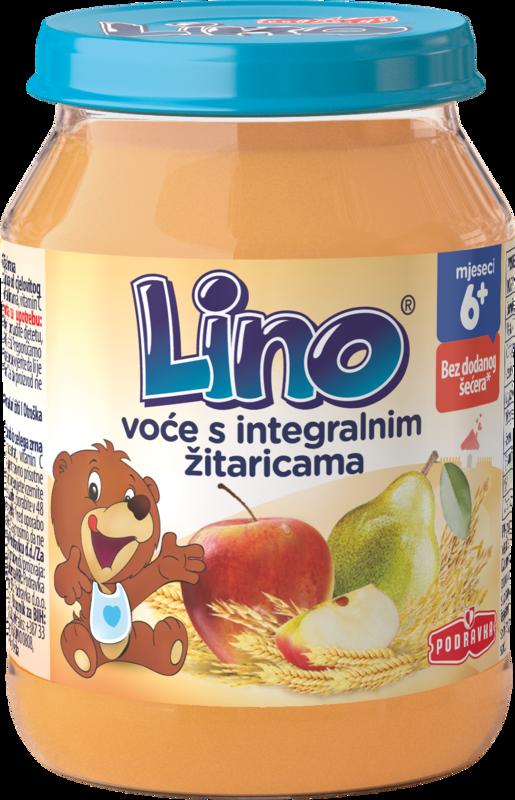 Lino voće s integralnim žitaricama