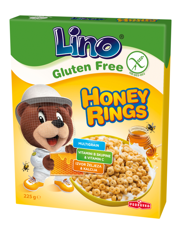 Lino Honey rings bez glutena