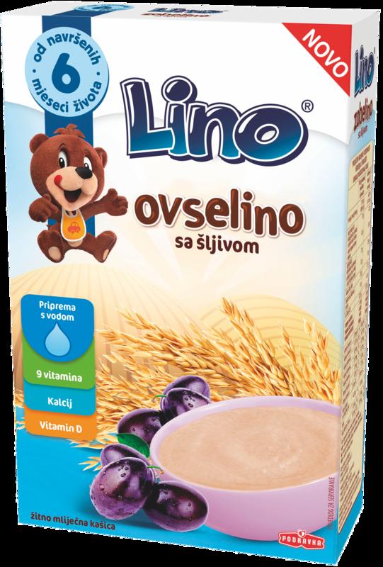 Lino Ovselino s slivami