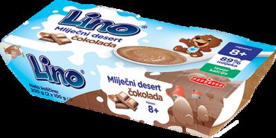 Lino mliječni desert čokolada