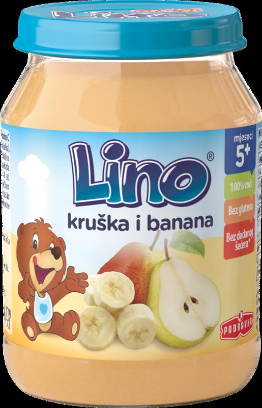 Lino kašica hruška banana