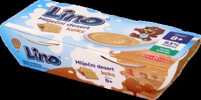 Lino mlečni desert keks