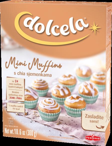 Mini Muffins s chia sjemenkama