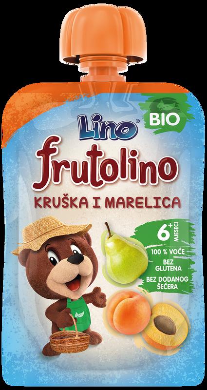 Frutolino Lino kruška i marelica