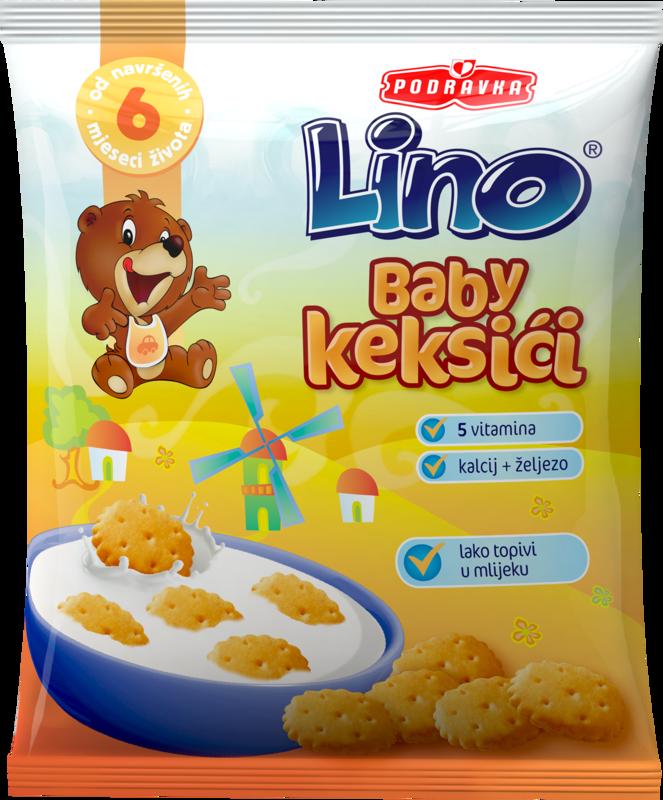 Lino baby keks
